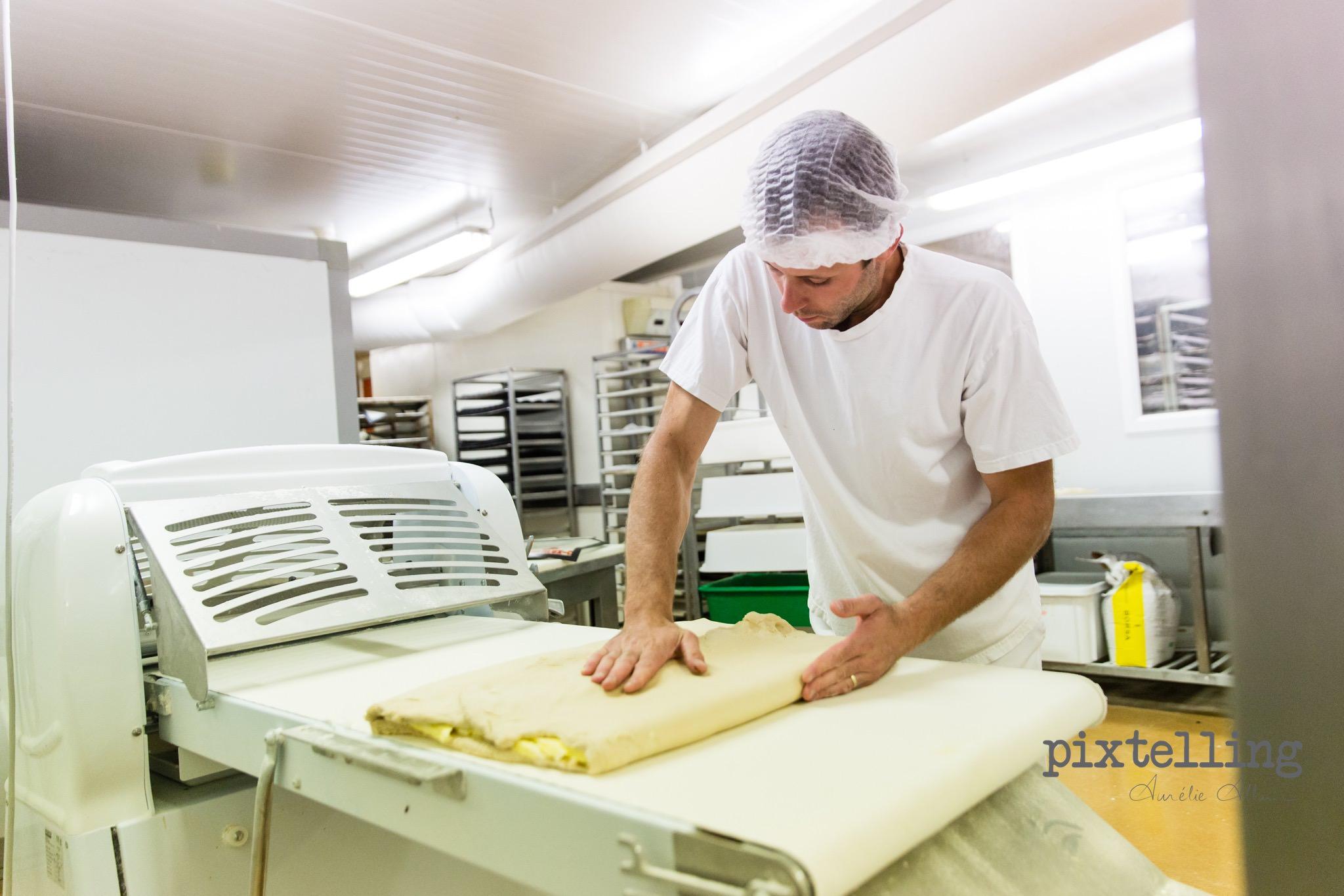 photo préparation croissants pixtelling grenoble